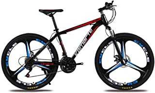 Foldable Bicycle Variable Speed Mountain Bike 21 Speed Mountain Bike Front And Rear Dual Brakes Adult Children Men And Wom...