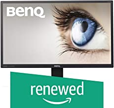 (Renewed) BenQ GW2470ML 24 Inch Full HD (1080P) LED Backlit PC Computer Monitor with HDMI, VGA connectivity & Speakers, Black