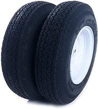 Motorhot 2PCS Tralier Tires & Rims 4.80-8 480-8 4.80 X 8 8