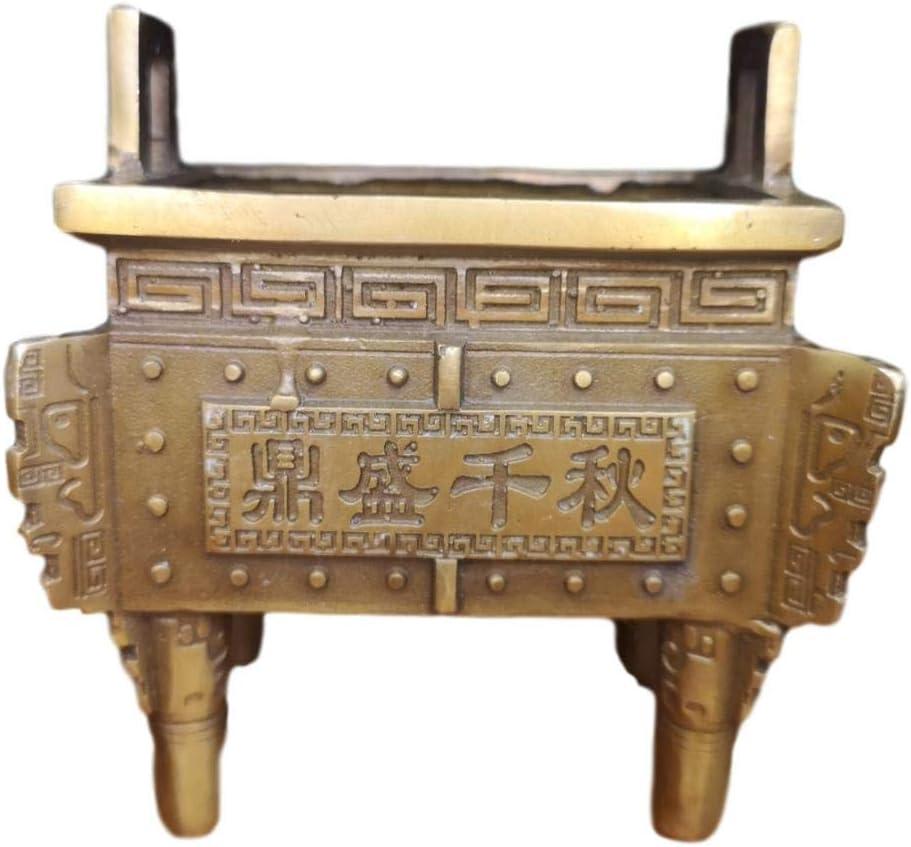 LAOJUNLU Brass Tripod Ornament Style 4 years warranty Bronze Super sale period limited 5 Imitation Antique