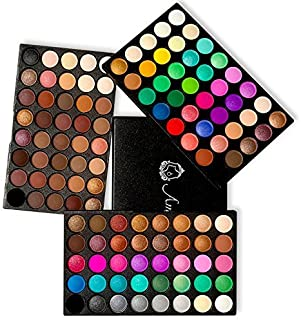Eyeshadow Palette, Ambito Professional Makeup 120 Colours Cosmetics Set 2018 New Eye Shadow Makeup Palette includes Matte and Shimmer Eye Shadows