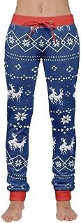 Clearance Sale!Men's Xmas Christmas Print Drawstring Casual Pants