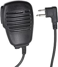 Tenq Rainproof 2-pin Shoulder Remote Speaker Mic Microphone PTT for Motorola Radio Pmr446 Pr400 Mag One Bpr40 A8 Ep450 Au1200 Etc