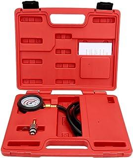 mewmewcat Testador de pressão traseira do escapamento definir sensor de kit de ferramentas de teste de manômetro