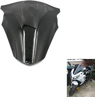 Alpha Rider Motorcycle Motorbike Black Windshield Windscreen for Kawasaki ER6F Ninja 650 EX650 2012 2013 2014 2015 2016