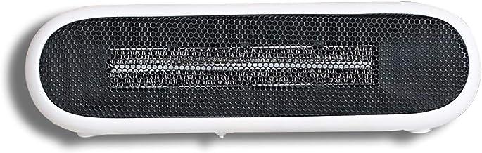 ZHIHQ Calefactor Eléctrico, Mini Calefactor Cerámico Calentador De Espacio Portátil Personal para Cuarto/Baño/Oficina, Oscilación Automática, Protección De Sobrecalentamiento,Viento Caliente,Blanco