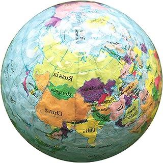 Bola de prática BesPORTBLE, novidade engraçada globo mapa Patten bola profissional para crianças, adultos, uso interno, es...