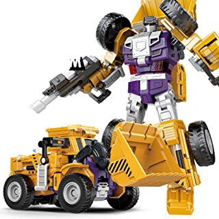 LULUD Children's Toys Toy Car Engineering Truck Model Transformers Series Robot Model Decoration Gifts (Color : C)
