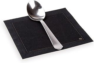 Restaurantware RWA0140 Cotton Napkin Organic, Disposable, Cloth, Black