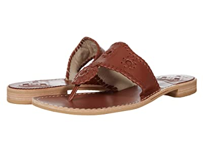 Jack Rogers Jacks Natural Flat Sandal
