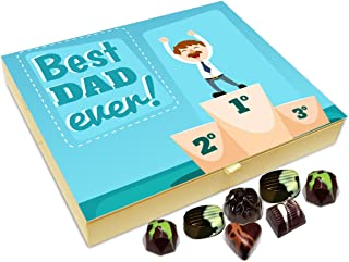 Chocholik Fathers Day Gift Box - You are The Best Dad in The World Chocolate Box - 20pc
