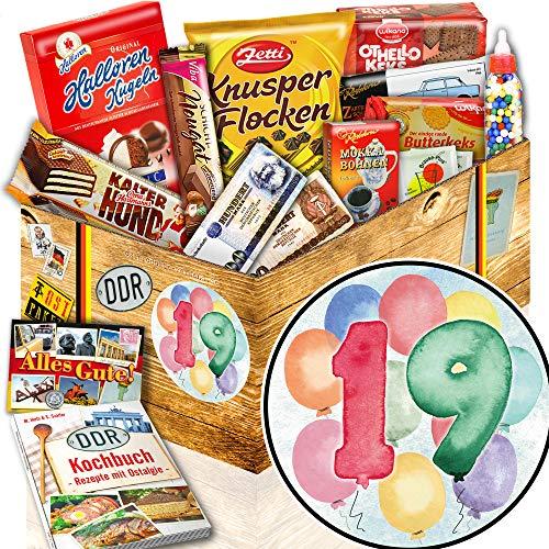 19. Geburtstag + Ostpaket + Geschenke zum 19. Geburtstag Junge