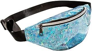 Paillette Waist Bags Sesigner Fanny Pack For Women Fashion Sequins Chest Bags For Women Casual Pochete Feminina Heuptas