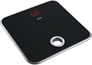 Scaleit Digital Bathroom Scale - Bright LED Display - Hang-able - Tempered Glass - 400 LB Capacity