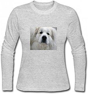 トップス グレートピレネー Women Long Sleeve T-Shirt レディーズ Tシャツ