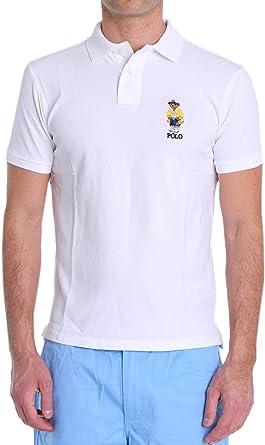 Polo Polo Ralph Lauren Oso Blanco Hombre: Amazon.es: Ropa
