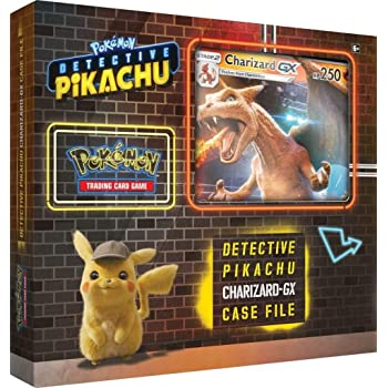 Pokemon TCG: Detective Pikachu Charizard-Gx Case File, Multicolor | Genuine Cards