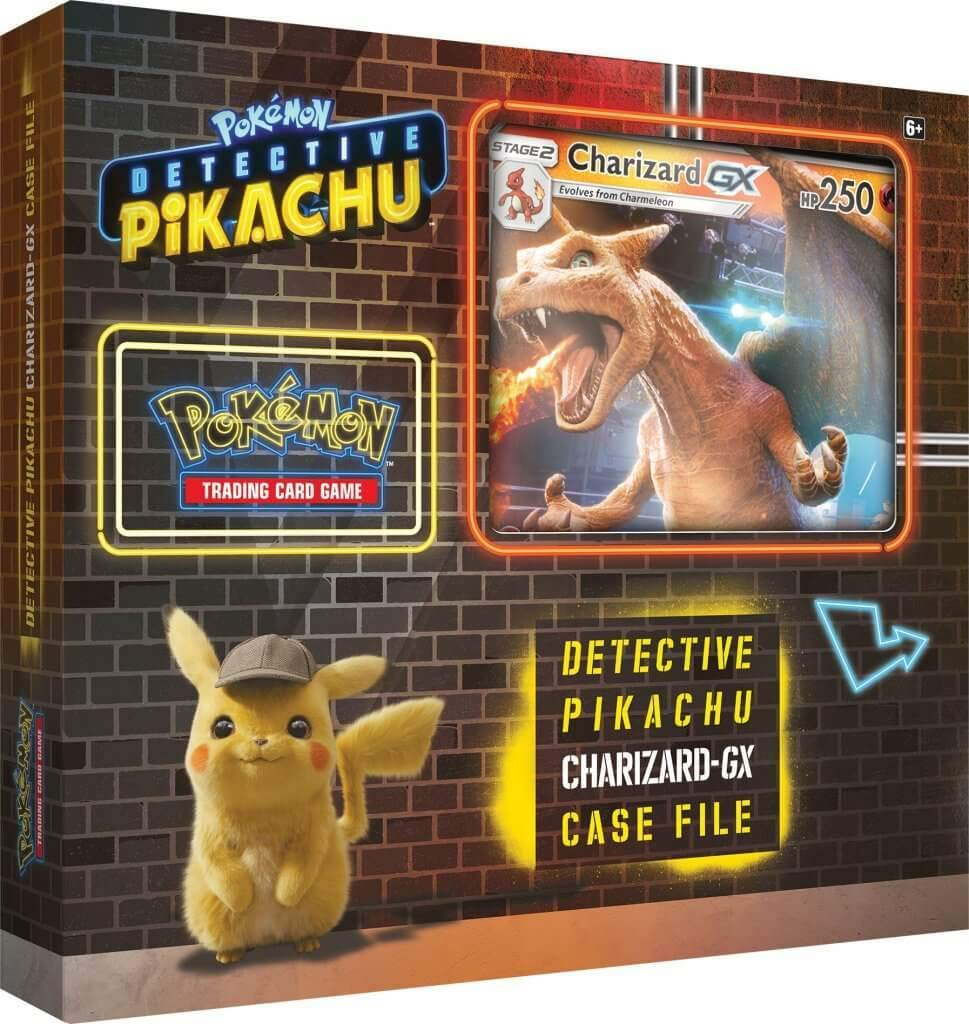 Pokemon TCG Detective Charizard Gx Oversize
