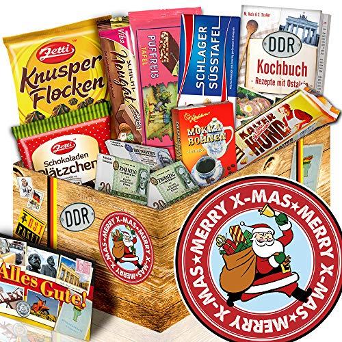 Weihnachtsmann - Schokoladen Ossi Paket - Geschenkeset Weihnachten Mama