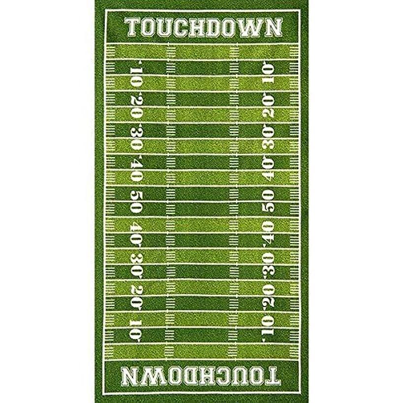 Robert Kaufman Sports Life 3 Grass Football Field Panel 23