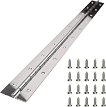 Muzata Heavy Duty 304 Stainless Steel Continuous Piano Hinge 2