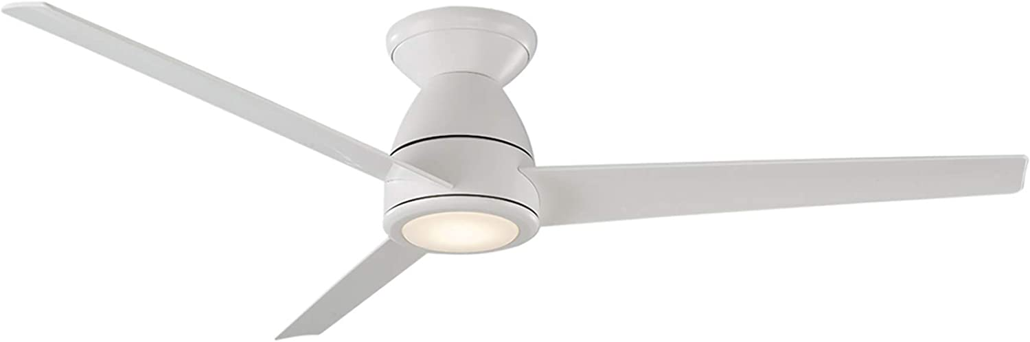 Tip Top Price reduction Indoor and Outdoor 3-Blade Flush Mount Ceiling Quantity limited Smart Fan