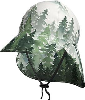 Lsjuee - Cappello da sole per bambini, traspirante, con albero della foresta, colore: Verde