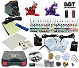 Complete Tattoo Kit 2 Machines Power Supply 40 colors ink
