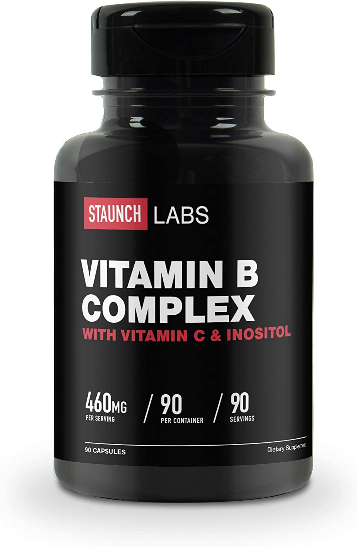 Staunch Vitamin B In a popularity At the price Complex 460 Non-GMO 90 - Capsules MG
