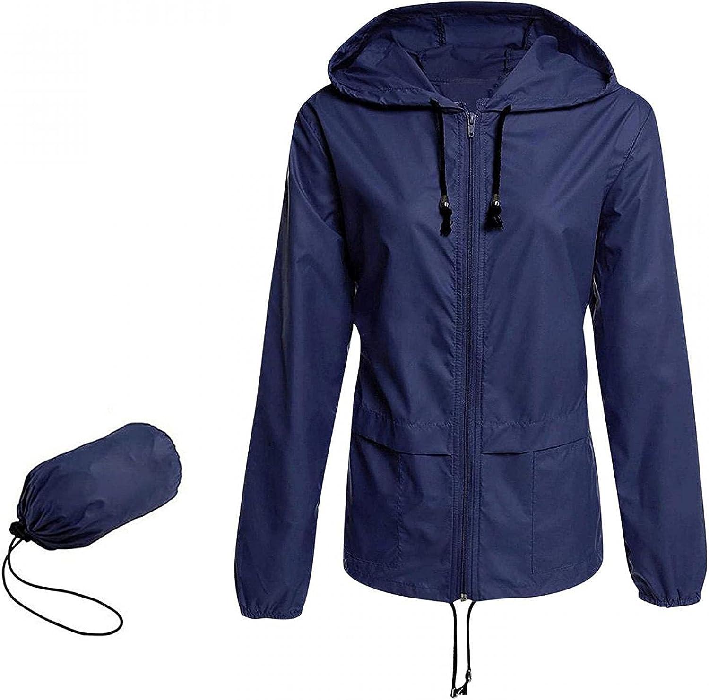 Raincoat Women Lightweight Waterproof Acti Packable Rain Jackets Ranking TOP19 5% OFF