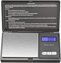 Digital Mini Scale, digital pocket scale,500g 0.01g/ 0.001oz Pocket Jewelry Scale, Electronic Smart Scale with 7 Units, LCD Backlit Display, Tare Function, Auto Off, Stainless Steel & Slim Design