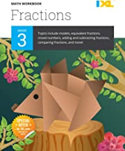 IXL | Grade 3 Fractions Math Workbook | Fun Math Practice for Ages 8-9, 112 pgs
