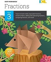 IXL Math Workbook: Grade 3 Fractions