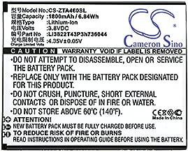 Cameron Sino 1800mAh Li-ionHigh-CapacityReplacementBatteriesforZTE Blade A460, Blade L4, fits ZTE Li3822T43P3h736044