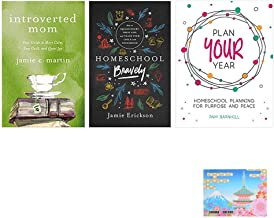 Homeschool Bravely , Plan Your Year , Introverted Mom , Original Sticky
