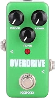 Guitar Mini Effects Pedal Over Drive - Warm and Natural...
