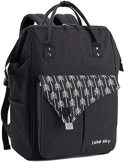 Lekesky Mochila para Portatil Mochila de Viaje Impermeable Mochila Laptop para Mujer y Hombre, Mochila Escolar Daypack Air...