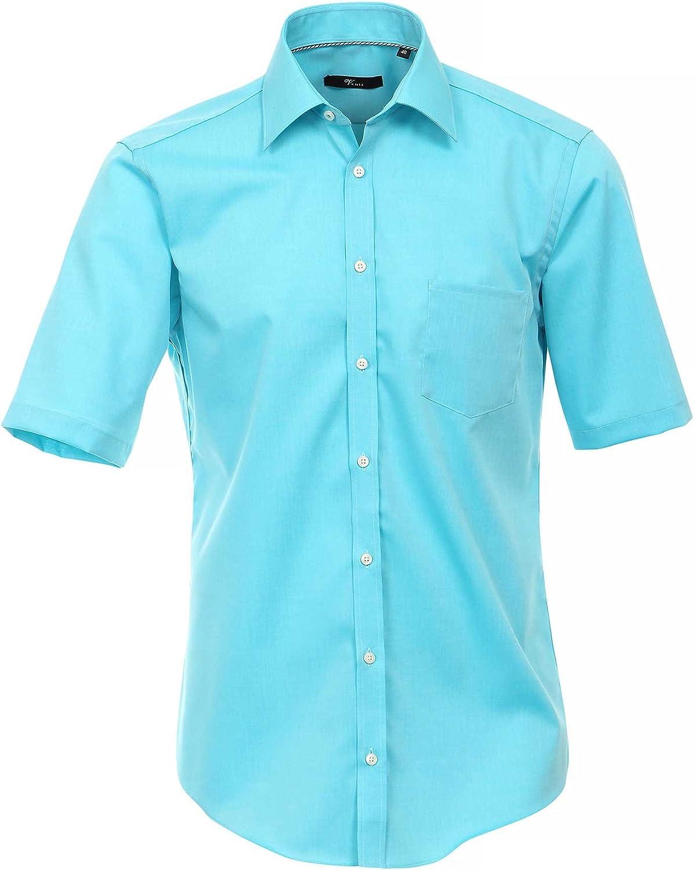 Venti Camisa Hombre Azul Ártico 38 cm (15