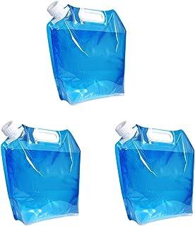 VISZC Seaux à Eau Pliables, Seau en Plastique Pliable léger, Seau en Plastique pour Jardin de Camping 5L 10L pour la rando...