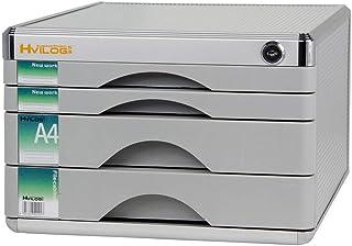 KANJJ-YU Bureau Table fichier Organisateur multi-châssis Type de tiroirs Collection Cabinet/Ceinture en alliage d'aluminiu...