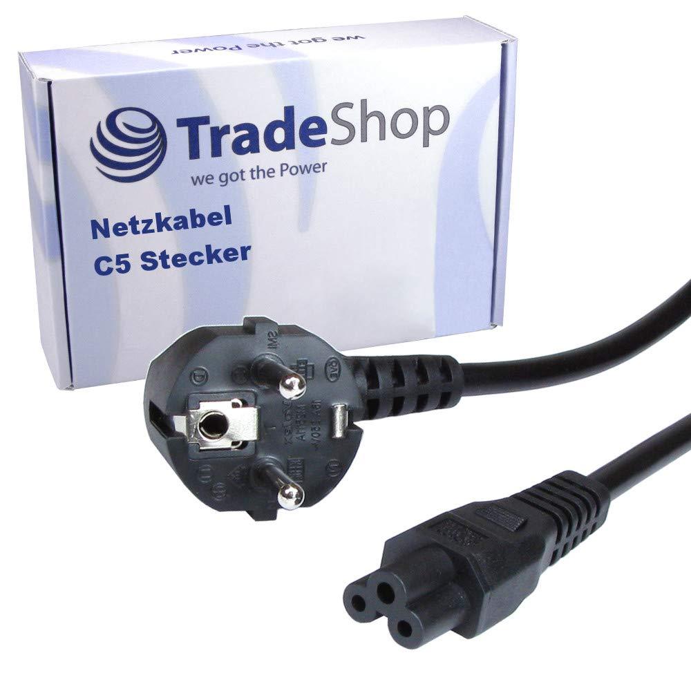 Cable de alimentación, 250 V, 2,5 A, Conector C5, Conector ...