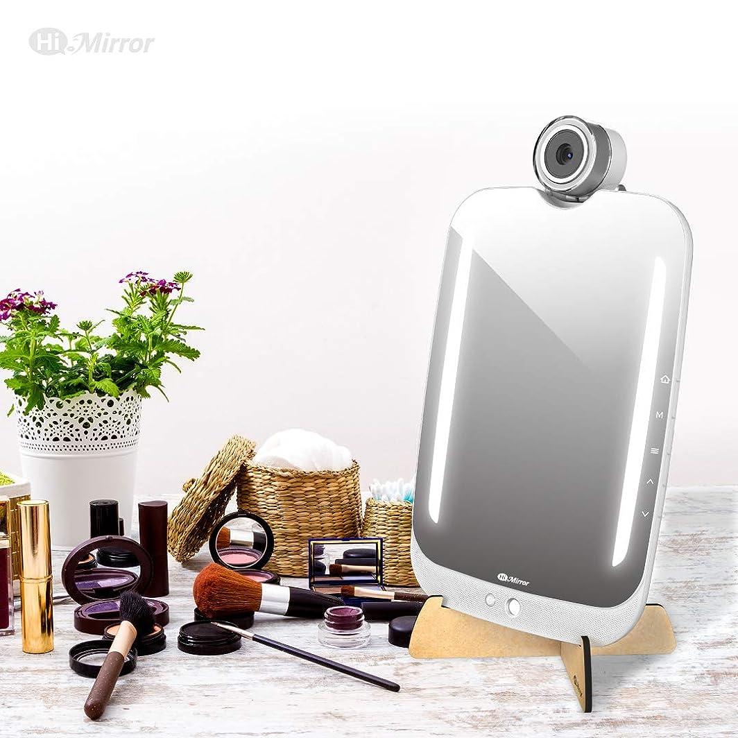 生活本物のビルダーHiMirrorプラス-デバイス型ビューティミラー、メイクアップシミュレーションAR新機能搭載、高精度カメラ機能とアプリケーションによる肌分析 BM618RC00AB