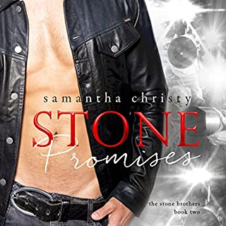 Stone Promises     A Stone Brothers Novel              Written by:                                                                                                                                 Samantha Christy                               Narrated by:                                                                                                                                 Jason Clarke,                                                                                        Erin Mallon                      Length: 10 hrs and 25 mins     5 ratings     Overall 4.8