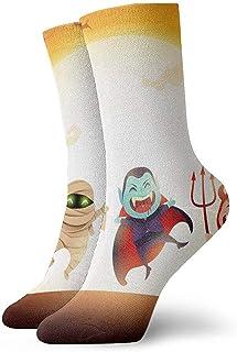 Be-ryl, Calcetines de compresión Athletic Calcetines Deportivos para Mujer Fiesta de Disfraces para niños de Halloween. Calcetín Deportivo