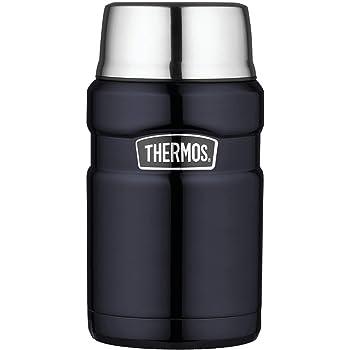 Thermos サーモス ステンレスキング・ミッドナイトブルー・フードジャー(0.7L) 保温性抜群 並行輸入品