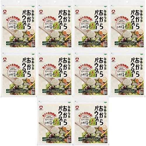 旭松食品 なめらかおからパウダー 120g ×10個