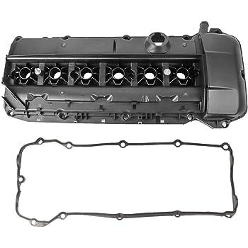 labwork Cylinder Head Valve Cover Fit for 02-06 BMW 330i 530i Z4 E46 E39 2.5L 3.0L I6
