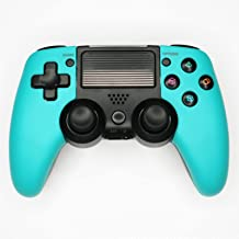 $45 » KJYT Wireless Controller for Playstation 4, Game Controller with Dual Vibration/Touch Pad/Six-axis Sensor/Turbo Blue B