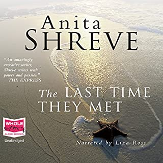 The Last Time They Met                   By:                                                                                                                                 Anita Shreve                               Narrated by:                                                                                                                                 Liza Ross                      Length: 10 hrs and 3 mins     6 ratings     Overall 3.3