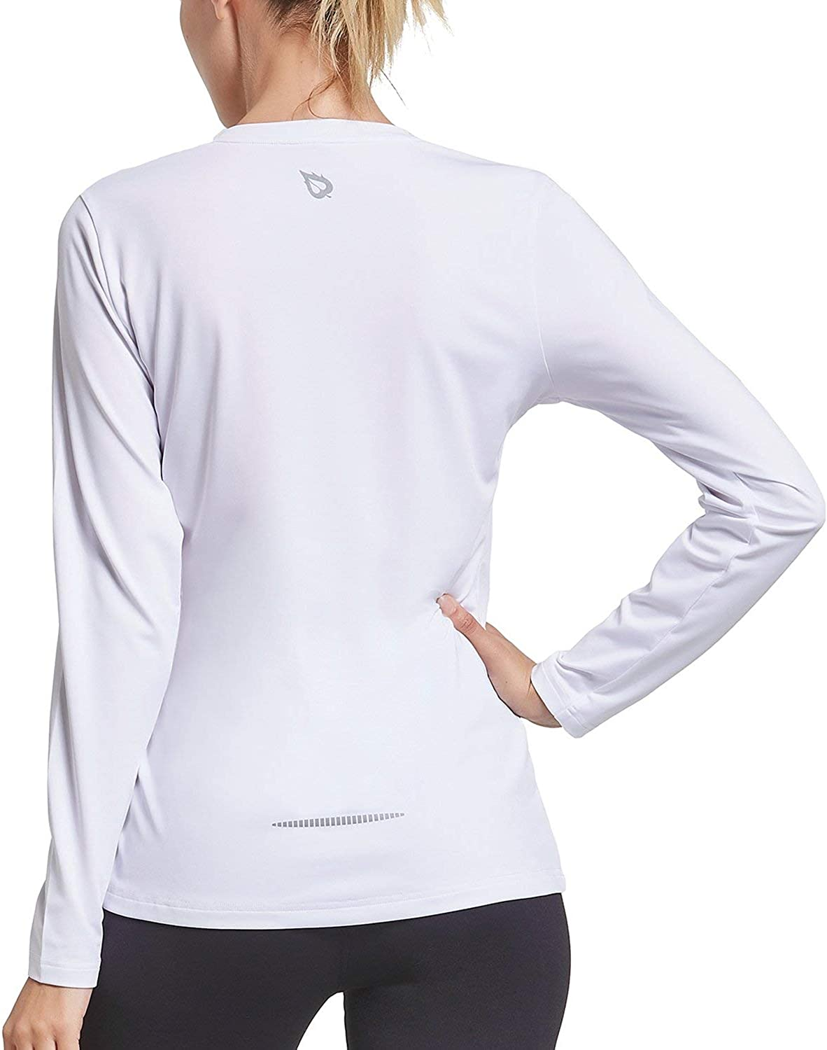 BALEAF Women's Long Sleeve UV Safety and Max 77% OFF trust Shirts S Workout Quick Dry Running